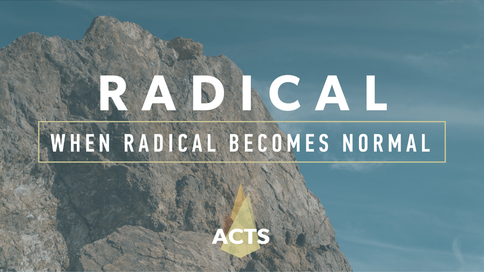 Radical: When Radical Becomes Normal